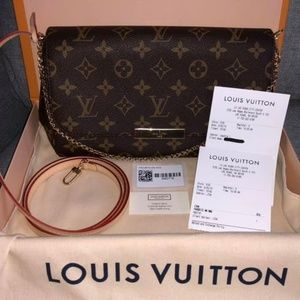 Authentic Louis Vuitton Favorite MM Monogram